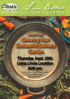 Lecture: Growing Your Successful Culinary Garden