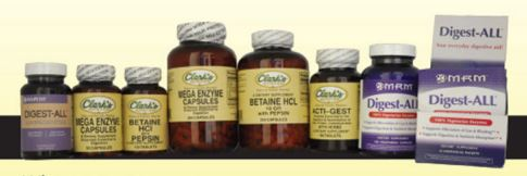 30% Off Selected MRM and Clark's Brand Digestive Enzymes
