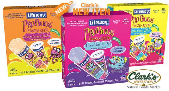Lifeway ProBug Freezer Pops