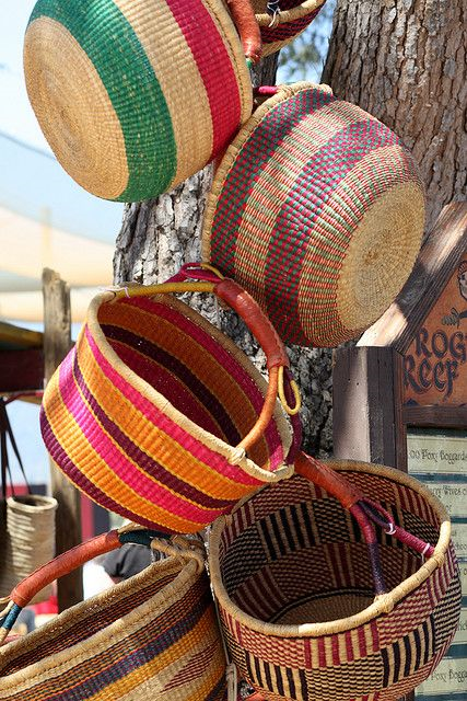 Alaffia Grass Baskets