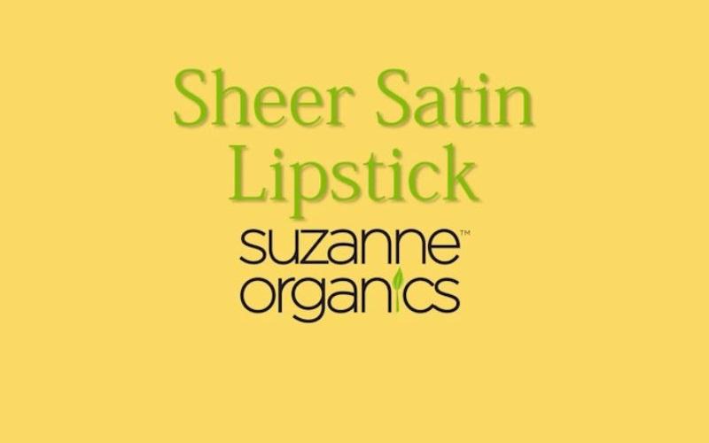 Sheer Satin Lipstick