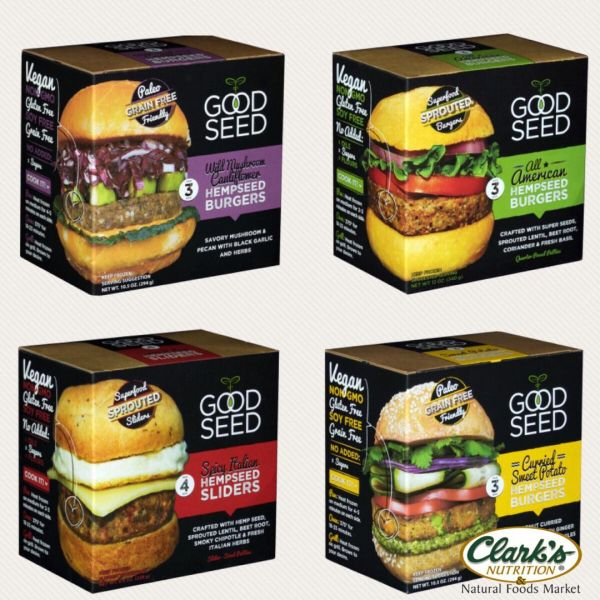 GoodSeed Sprouted & Paleo Burgers