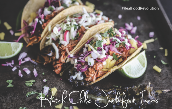 Hatch Chile Jackfruit Tacos
