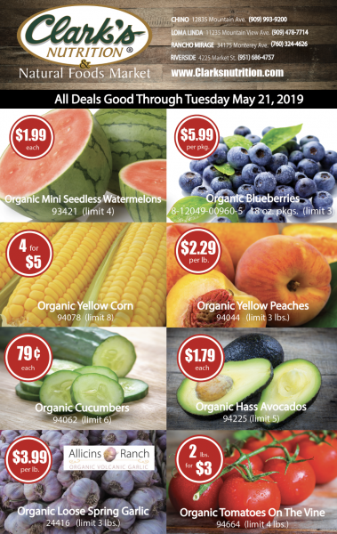 Weekly Organic Produce Hot Deal