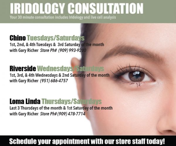 In Store Services Iridology