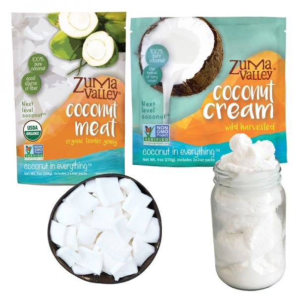 Zuma Valley Coconut Meat & Cream
