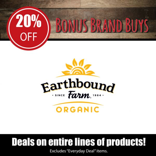 Earthbound Farm - 20% Off