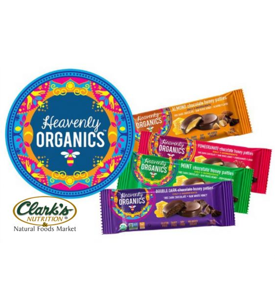 Heavenly Organic Chocolate Honey Patties