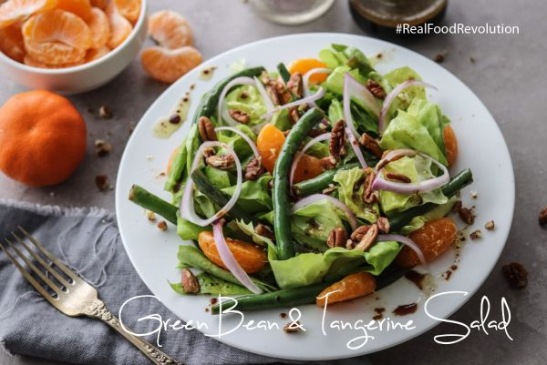 Green Bean & Tangerine Salad