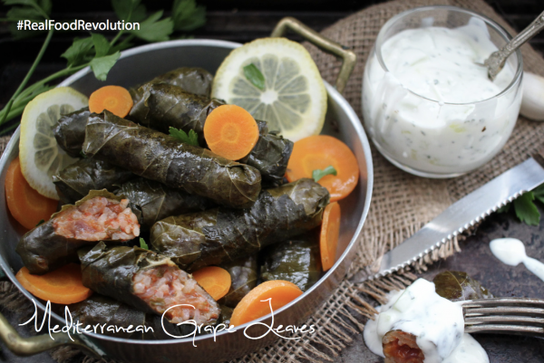 Mediterranean Grape Leaves