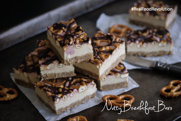 Nutty Breakfast Bars