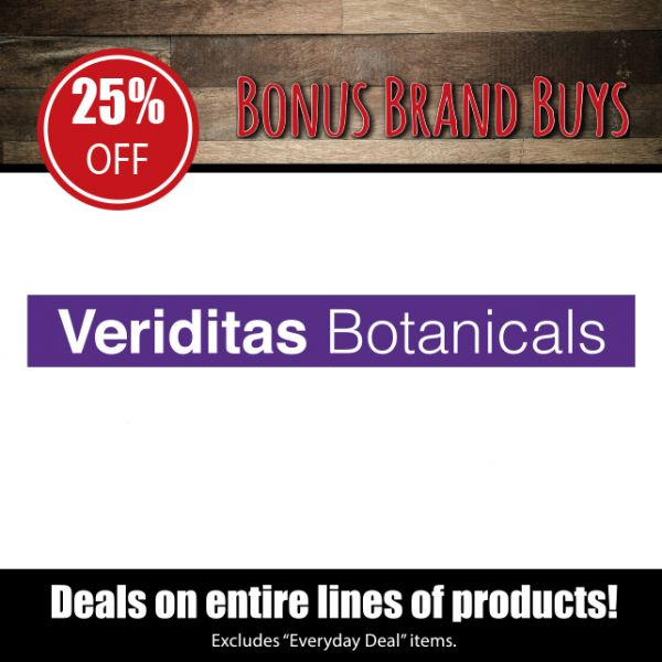 Veriditas Botanicals - 25% Off