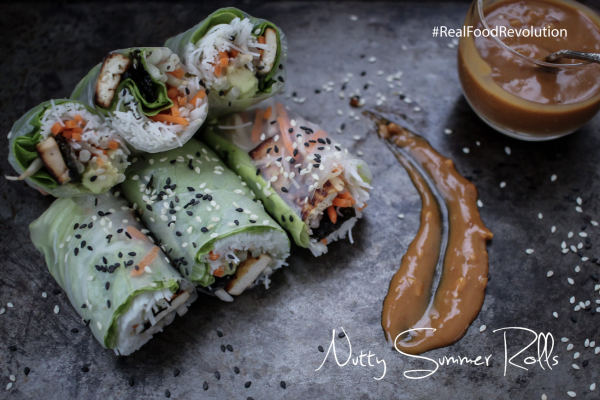 Nutty Summer Rolls