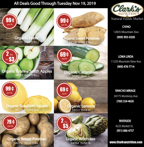 Weekly Organic Produce on Hot Deal