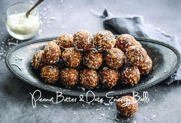 Peanut Butter & Date Energy Balls