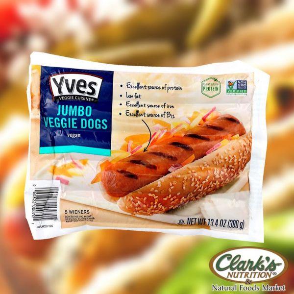 Yves Jumbo Veggie Dogs