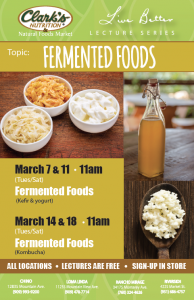 Lecture: Fermented Foods
