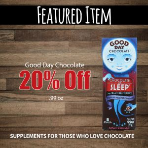 Supplements for those who love chocolate