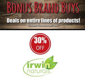 Irwin Naturals Supplements