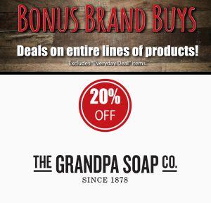 Grandpa Soap Co. Products