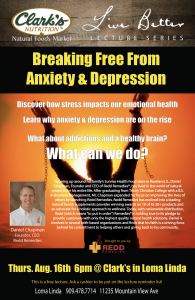 Lecture: Breaking Free From Anxiety & Depression