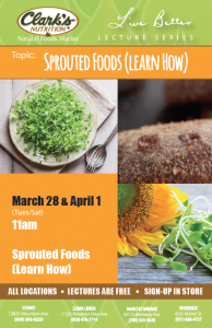 Lecture: Sprouted Foods (Learn How)