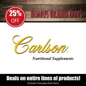 Carlson Nutritional Supplements
